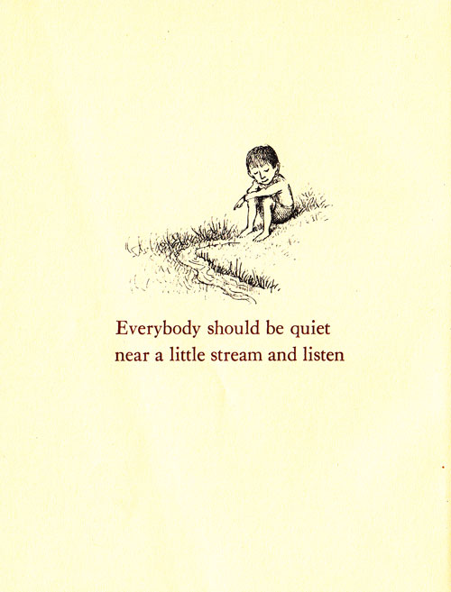 - Iš  Ruth Krauss, Maurice Sendak, Open House for Butterflies
